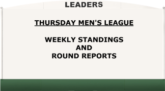THURSDAY leaderboard picture
