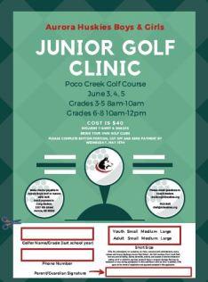Golf Clinic Icon